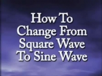 How to Change from Square to Sign