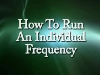 How to run an Individual Frequency
