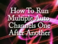 GB-4000 How to Run Multiple Auto Channels