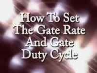 How to Set the Gate Rate